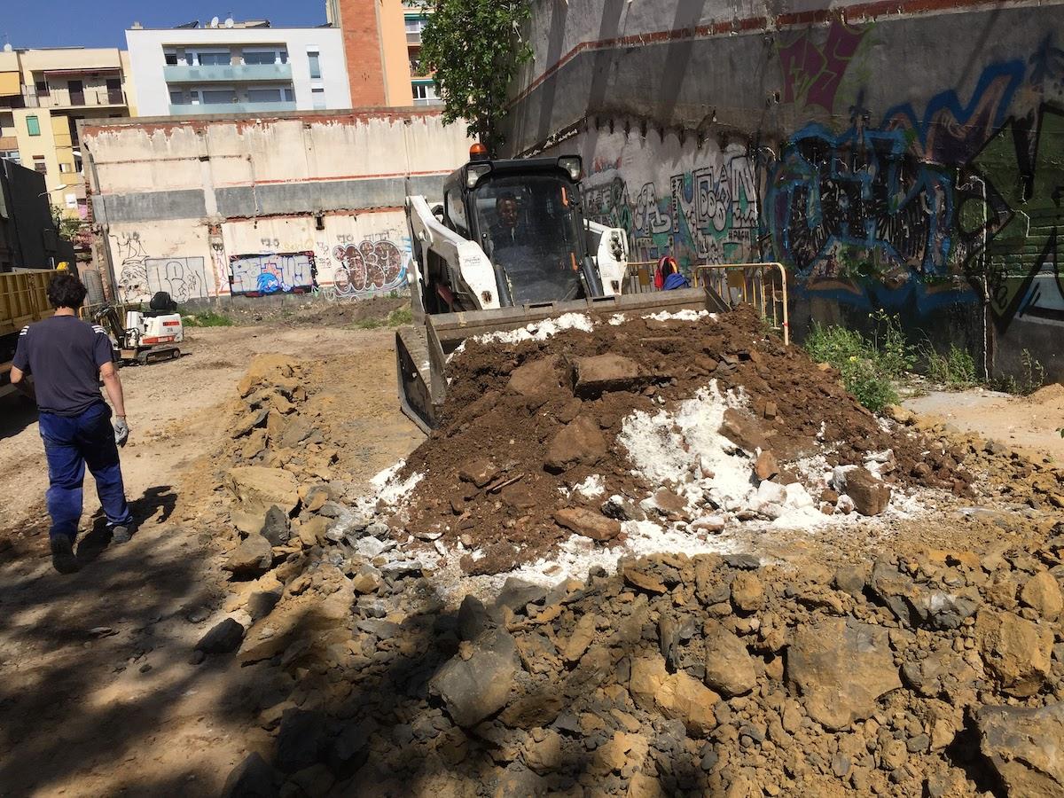 descontaminación del suelo