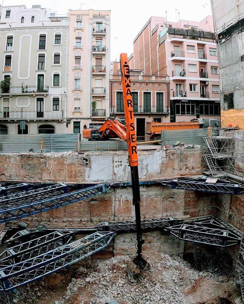 excavaciones profundas