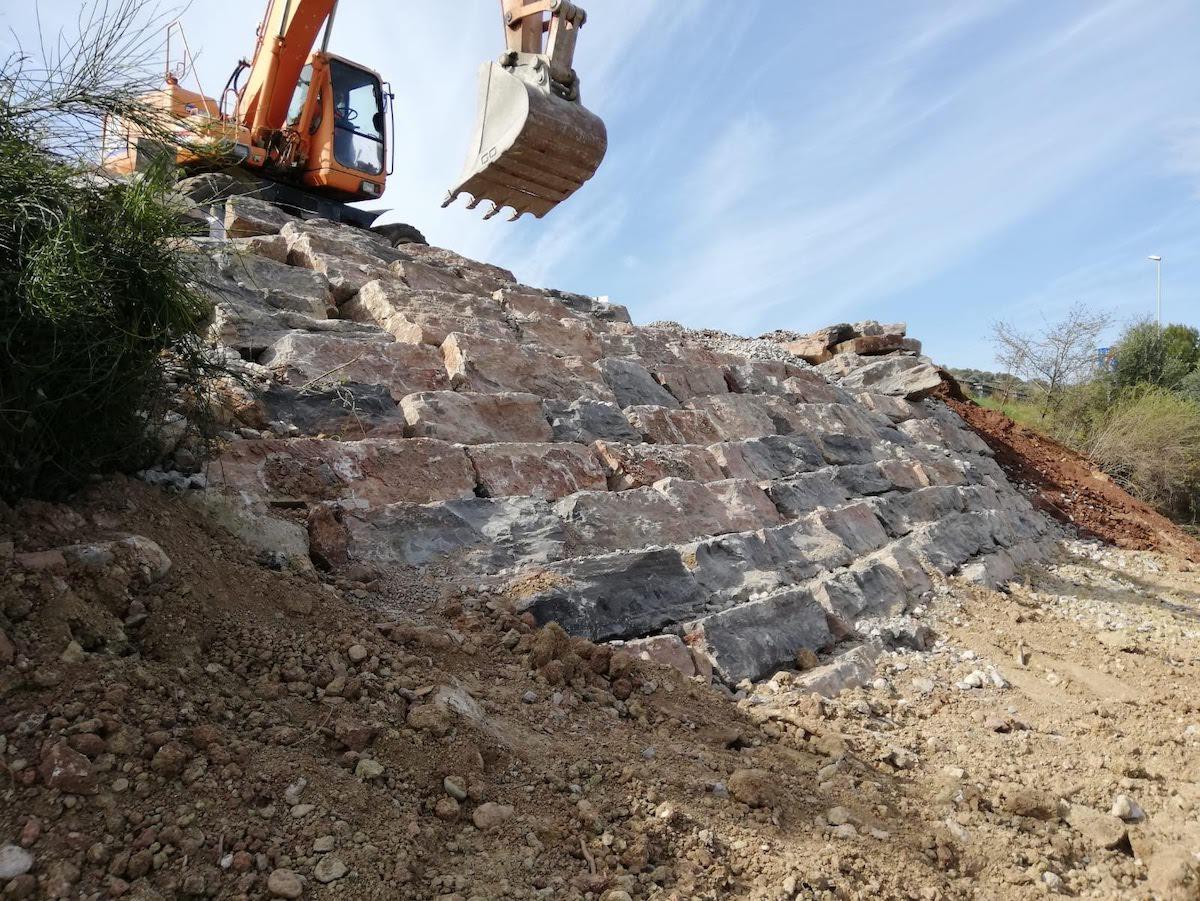 muros de rocalla